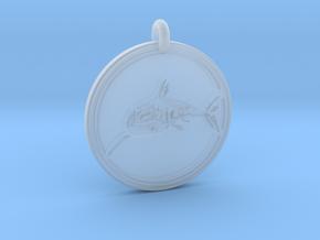 Great White Shark Animal Totem Pendant in Smooth Fine Detail Plastic