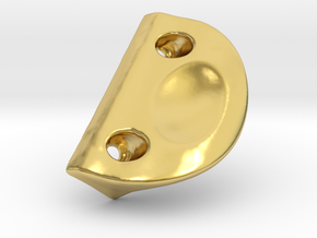 Handle DFF in Polished Brass