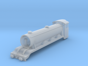 Tomix Scaled LNER 4-6-2 Locomotive Body in Smooth Fine Detail Plastic