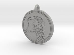 Ospray Animal Totem Pendant in Aluminum