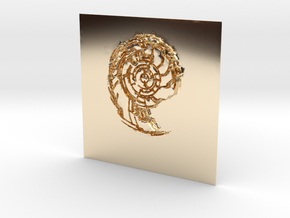 Cryoshell in 14k Gold Plated Brass