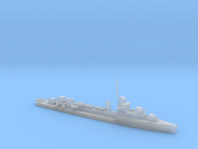 1/1250 Scale Sims Class Destroyers in Smooth Fine Detail Plastic