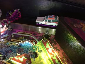 Pinball Ghostbusters Ecto Car Mount in Purple Processed Versatile Plastic