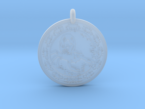 Scorpion Animal Totem Pendant in Smooth Fine Detail Plastic
