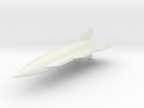 "(1:144) Gleiter A-4 ""Staggered Delta"" in White Natural Versatile Plastic"