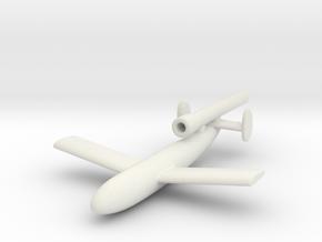 (1:144) Fieseler P.35 Erfurt in White Natural Versatile Plastic