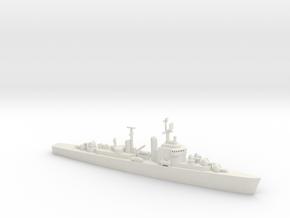 1/1250 Scale USS Norfolk DLK-1 in White Natural Versatile Plastic