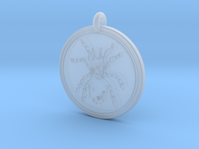 Tarantula Animal Totem Pendant in Smooth Fine Detail Plastic