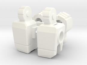 Seeker style arms for PotP Blackwing in White Processed Versatile Plastic