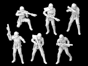 (Legion) 6x Death Troopers in Smooth Fine Detail Plastic