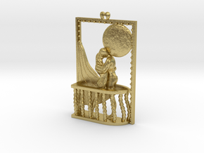 Romantic mood at full moon in Natural Brass