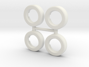 Knight (sm) - Helliger Socket Conversion - DOUBLE  in White Natural Versatile Plastic