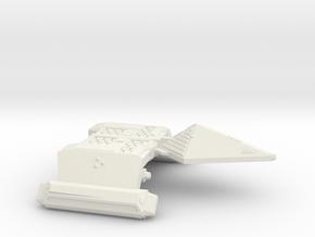 3125 Scale Neo-Tholian Dreadnought SRZ in White Natural Versatile Plastic