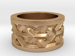woven ring in Natural Bronze: 5 / 49