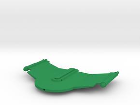 Romulan V6 Gallant Wing 1/1400 in Green Processed Versatile Plastic