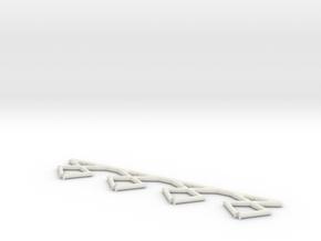 Megacity insulator in White Natural Versatile Plastic