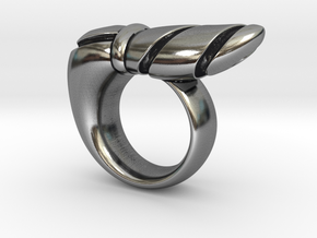Chrysalis Ring 1 - Size 9 (18.95 mm) in Antique Silver