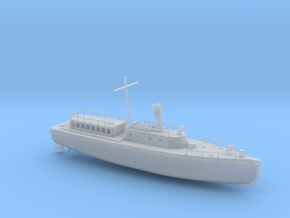 1/144 Scale IJN Boat 17 Meter in Smooth Fine Detail Plastic