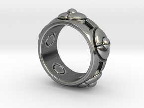 Pinch Me - Size 12 (21.49 mm) in Antique Silver