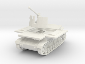 Mobelwagen 37mm early fire pos. 1:100 in White Natural Versatile Plastic