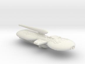 3788 Scale Gorn Destroyer-Battlecruiser+ SRZ in White Natural Versatile Plastic