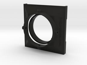 ZUIKO mFT 8mm f1.8 filterholder in Black Natural Versatile Plastic