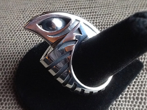 Falcon Ring 1 - Size 11 (20.57 mm) in Polished Silver