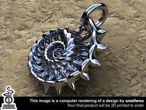 Spikelink from the Ammonite range by unellenu in Polished Bronzed Silver Steel