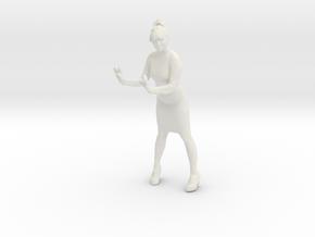 Printle C Femme 002 - 1/12 - wob in White Natural Versatile Plastic