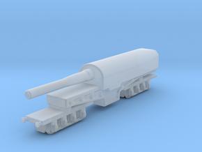 canon de 274 mm mle 1893 1/144 railway artillery  in Smooth Fine Detail Plastic