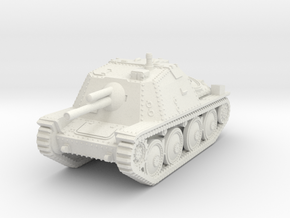 1/87 (HO) Sav M/43 SPG in White Natural Versatile Plastic