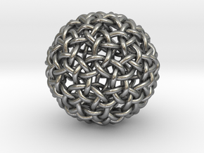 Worm Weave in Natural Silver