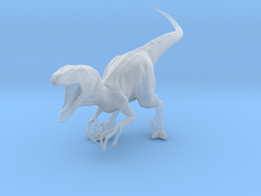 Jurassic Park Raptor v1 1/35 scale in Smooth Fine Detail Plastic