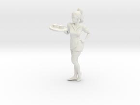 Printle V Femme 051 - 1/12 - wob in White Natural Versatile Plastic