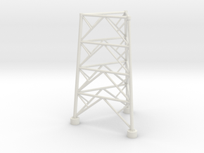 twr base part 1 of 4 in White Natural Versatile Plastic: 1:48 - O