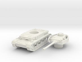 panzer IV H scale 1/87 in White Natural Versatile Plastic