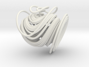 Dequan Li Chaotic Attractor in White Natural Versatile Plastic