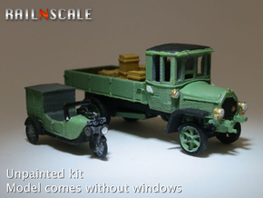 Spedition SET (N 1:160) in Smooth Fine Detail Plastic