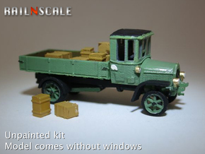 Daimler DR4 1/2 Marienfelder - open (N 1:160) in Frosted Ultra Detail
