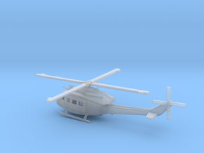 1/72 Scale UH-1Y Model in Smooth Fine Detail Plastic