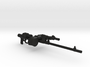 Star Wars RT-97C Heavy Rifle in Black Premium Versatile Plastic