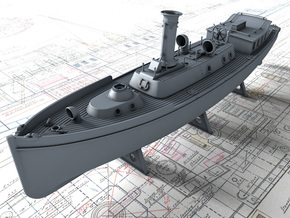 1/100 Royal Navy 50ft Steam Pinnace x1 in Smooth Fine Detail Plastic