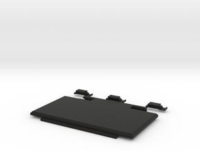 Printer Battery cover in Black Natural Versatile Plastic