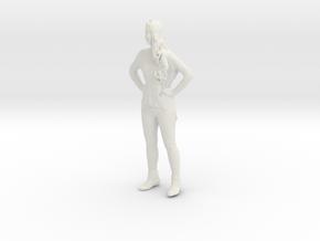Printle C Femme 071 - 1/12 - wob in White Natural Versatile Plastic