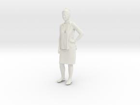 Printle C Femme 077 - 1/12 - wob in White Natural Versatile Plastic