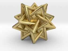 Tetrahedra Compound in Natural Brass