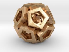 Pentagonal Crystals in Natural Bronze