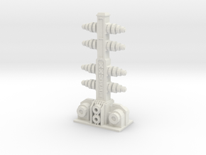 electric tower from battle for macragge in White Natural Versatile Plastic