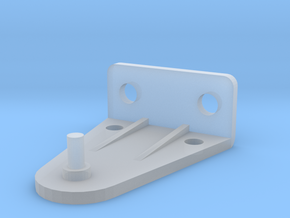 Hold Down Bracket 383-B in Smooth Fine Detail Plastic