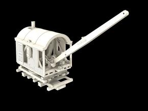 Z Scale Barnhardt Log Loader in Smooth Fine Detail Plastic